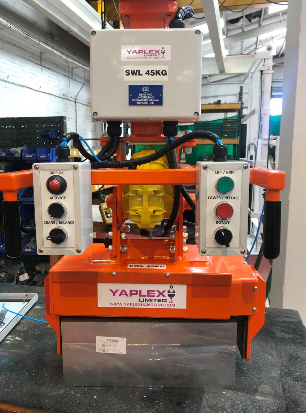 Yaplex Equipment